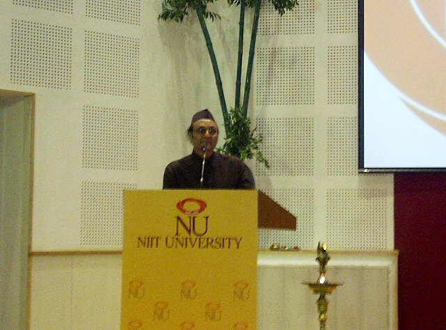 NIIT University Annual Function 2012